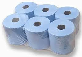 2 Ply Budget Blue Centrefeed 120m case (6) PC51