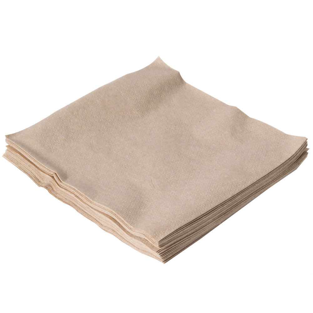 33cm Recycled Brown Napkin 2 Ply case (2000)