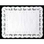 "WHITE TRAY PAPERS 14"" x 10"""